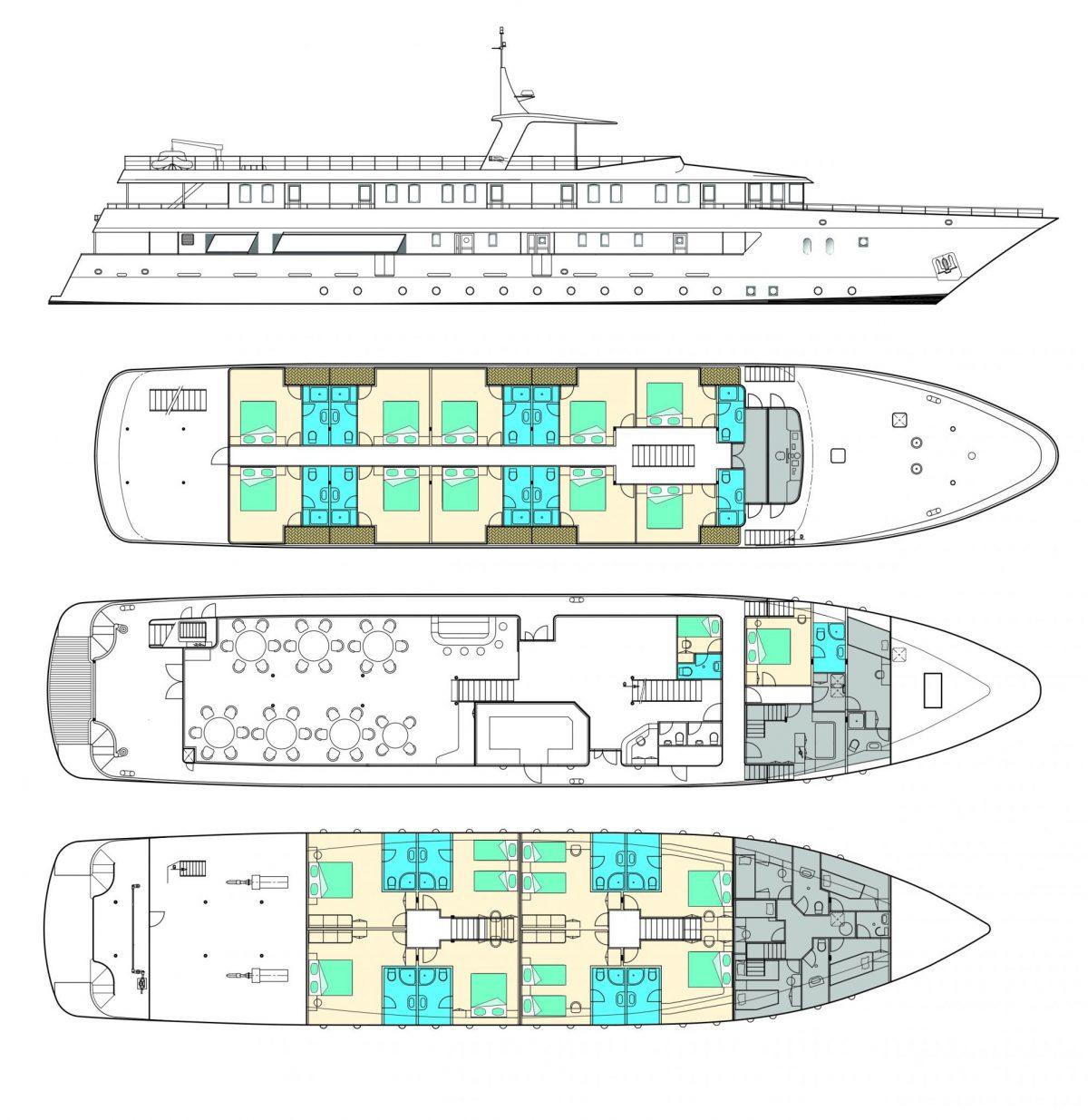 Adriatic Sun Deck Plan