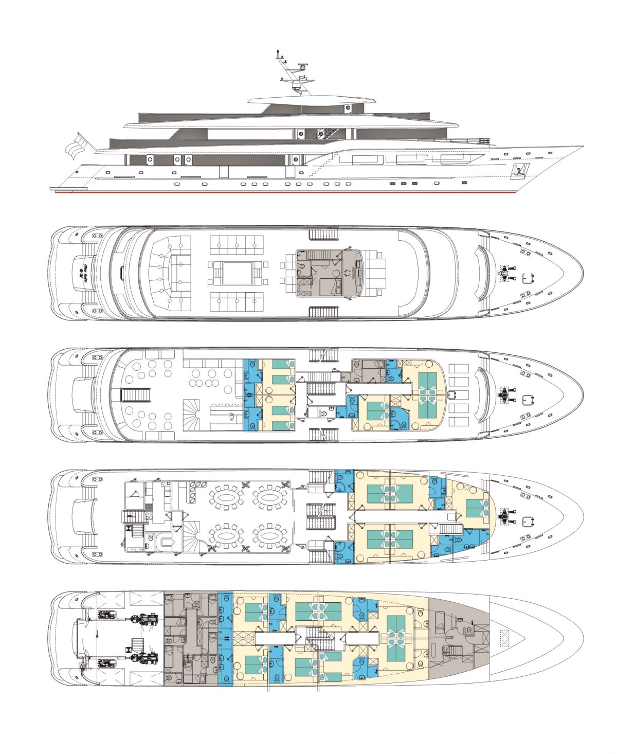 Black Swan Deck Plan