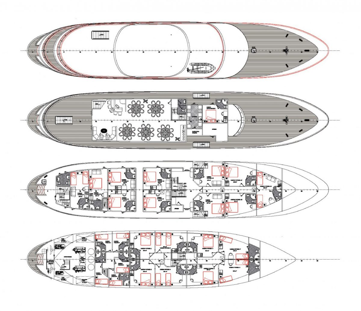MS Futura Deck Plan