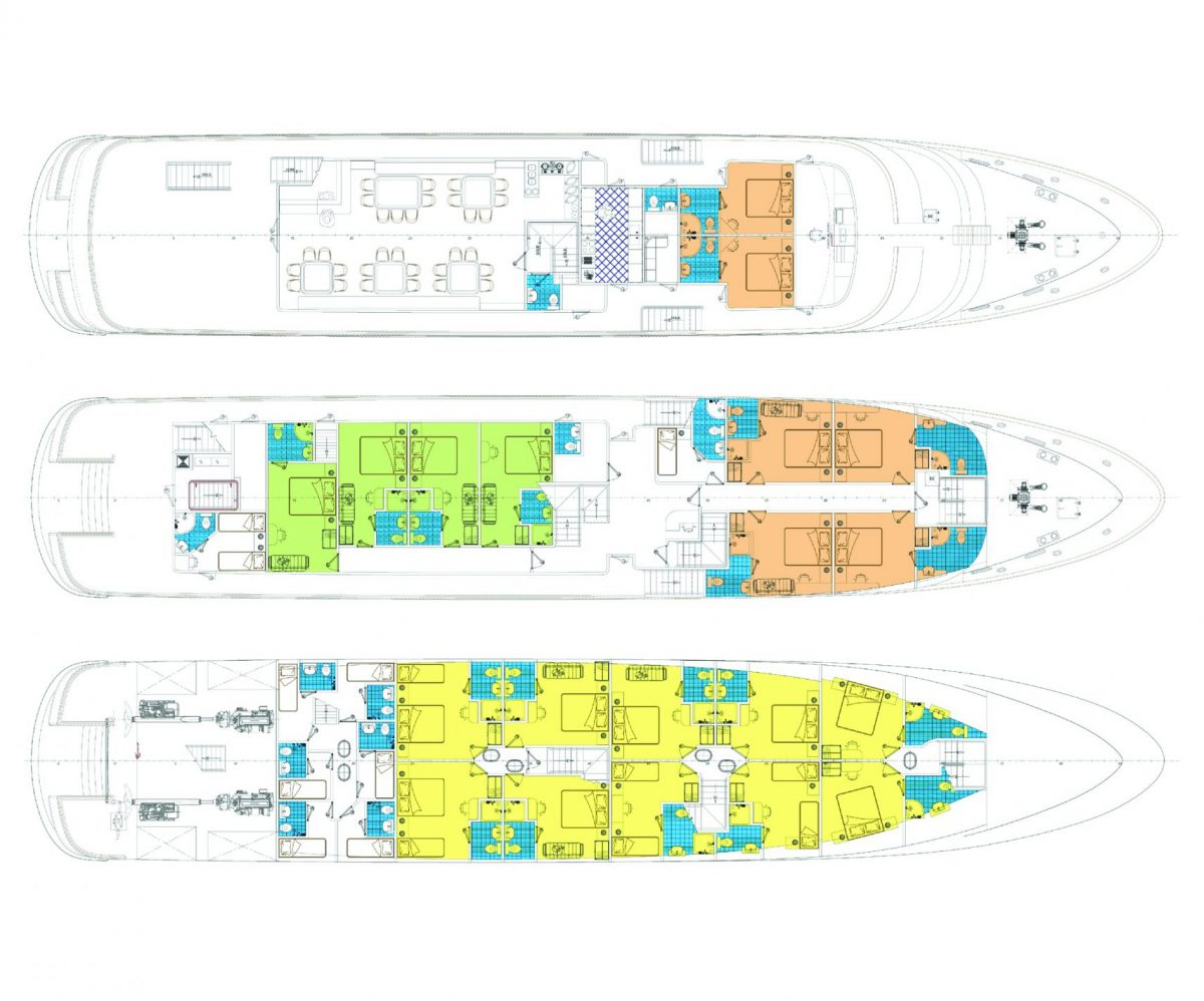 MS Mare Deck Plan