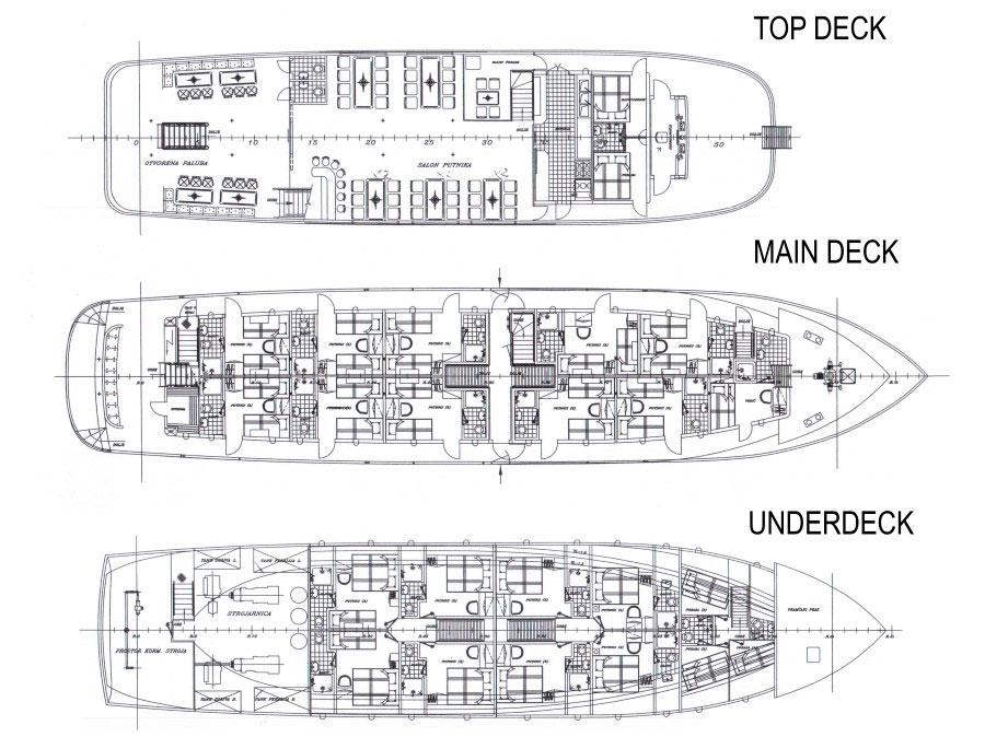 MS Majestic Deck Plan