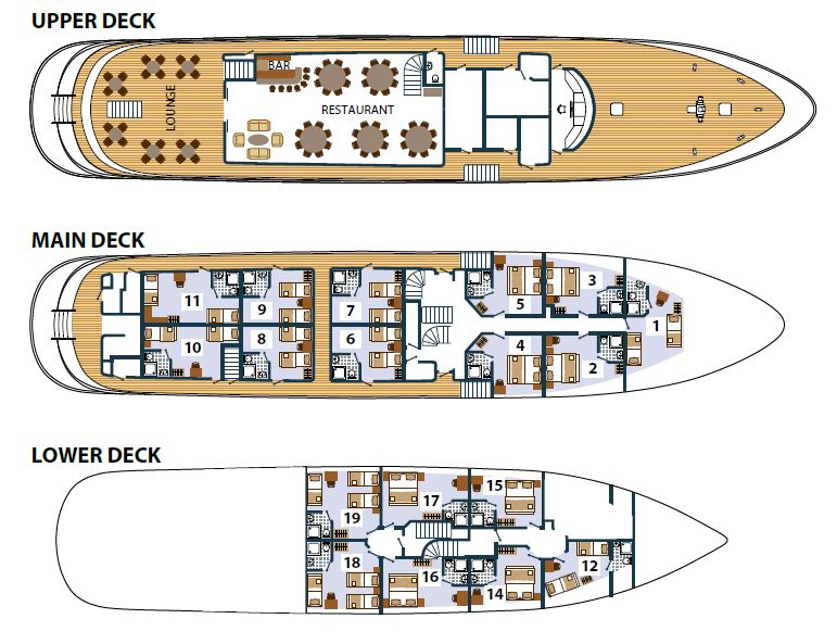 Karizma Deck Plan