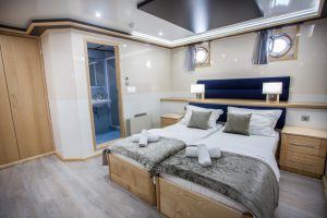 Providenca Lower Deck Double Bed cabin