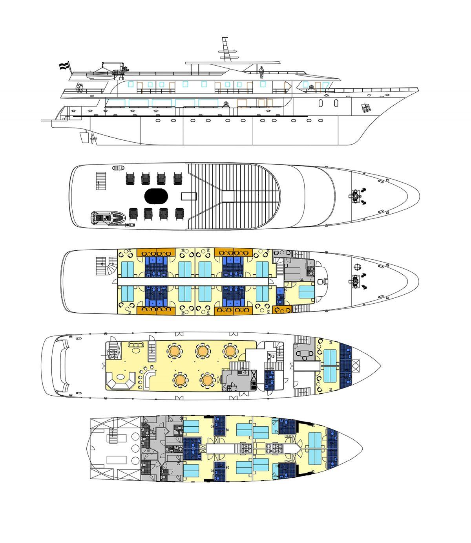 MS Markan Deck Plan