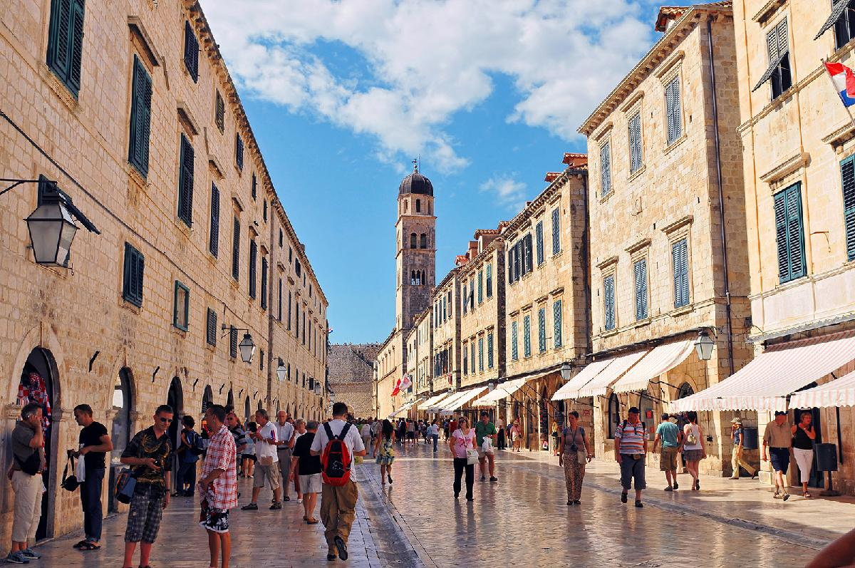 Dubrovnik Old Town – when to go..