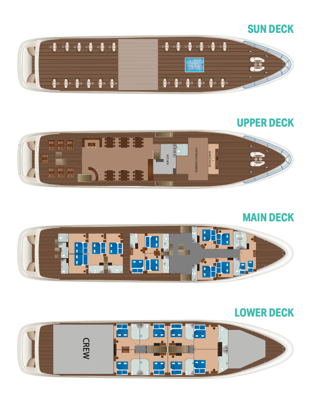 MS Diamond Deck Plan