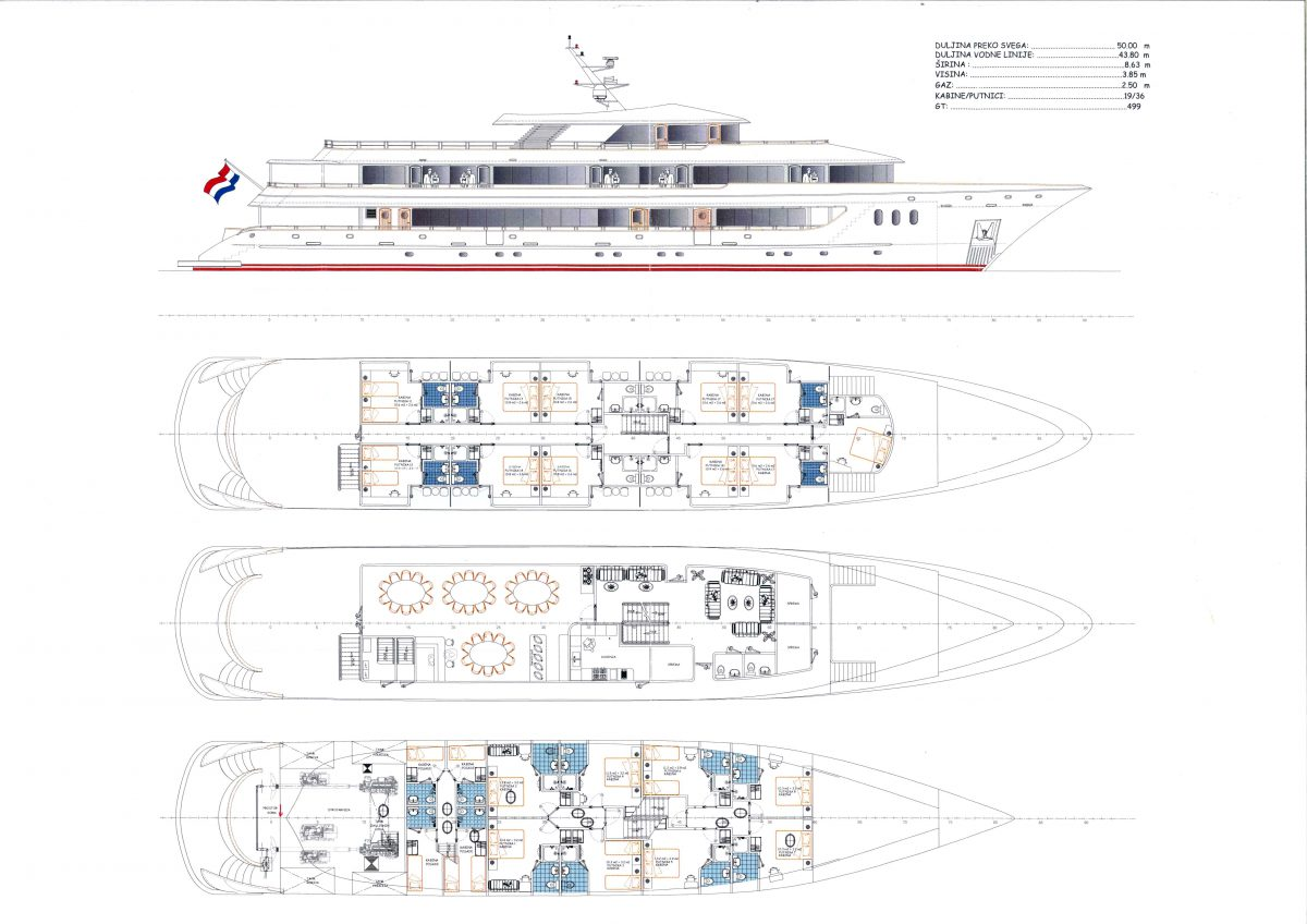 Rhapsody Deck Plan