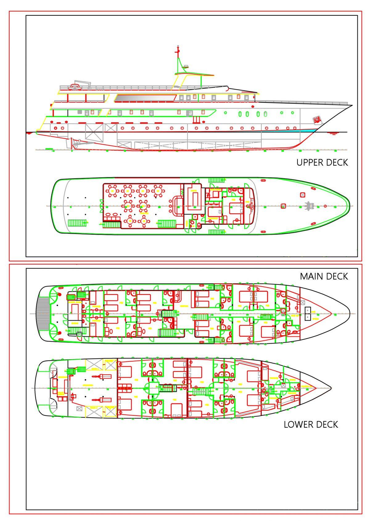 Adriatic Princess Deck Plan