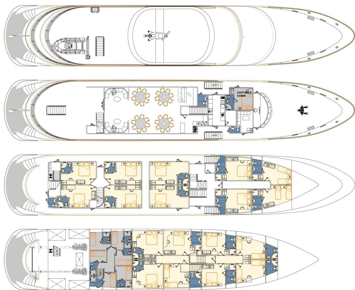 Avangard Deck Plan