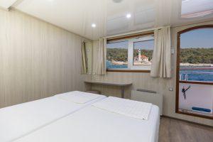 MS Cristal main deck cabin
