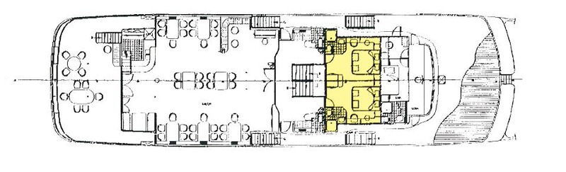 MS Lupus Mare Deckplan Upper Deck