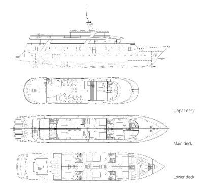 Adriatic Sky deck plan
