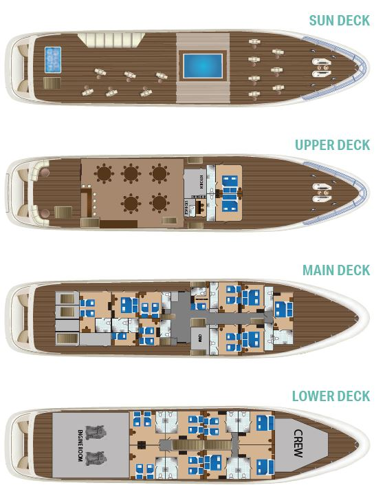 New Star Deck Plan