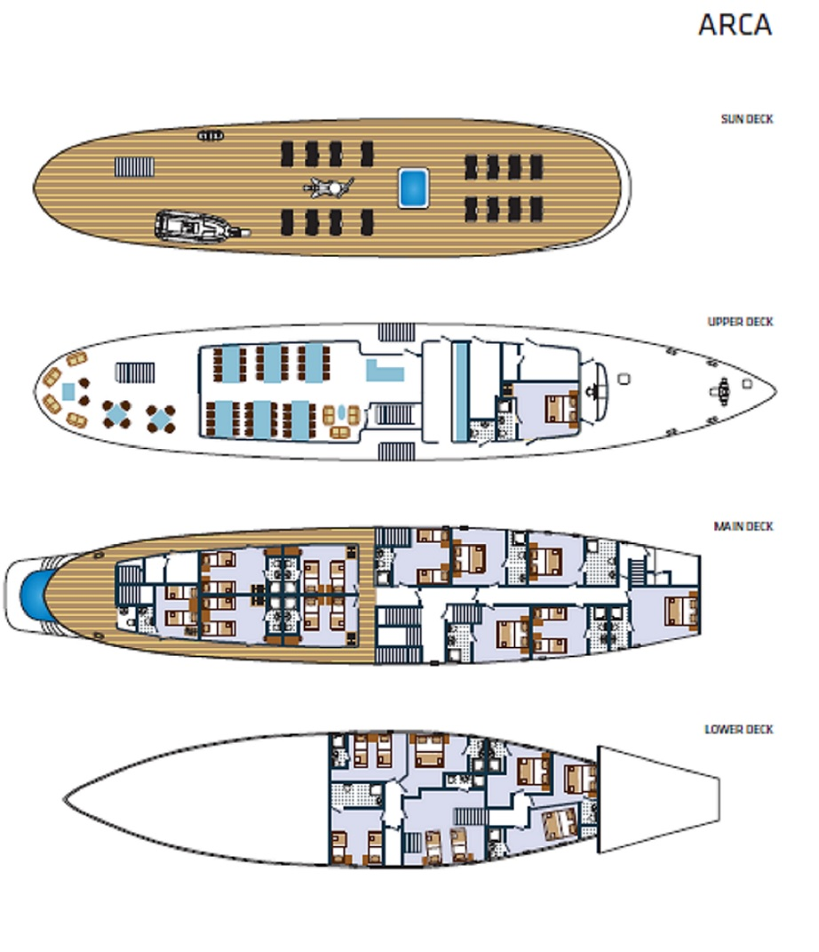 Arca Deck Plan
