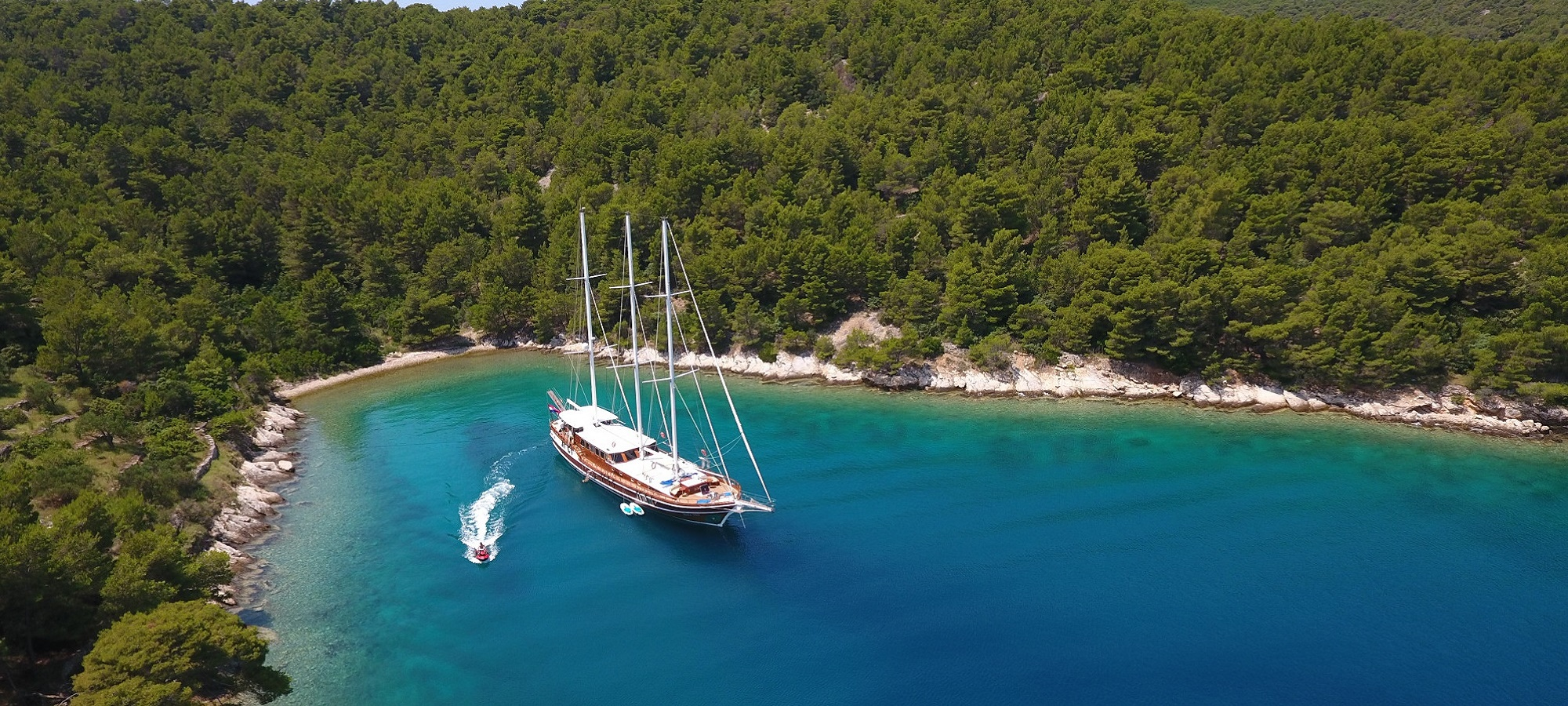 Charter a Yacht or Gulet in Croatia