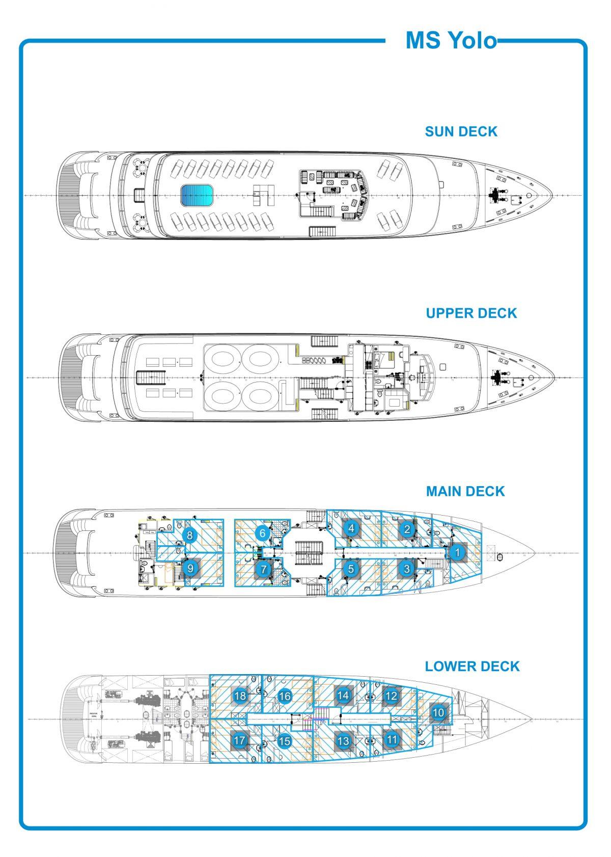 Yolo Deck Plan